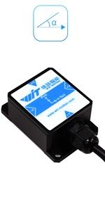 Military-grade HWT901B-TTL Tilt Angle Sensor