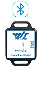 WitMotion WT901C RS232 9 Axis IMU Sensor Tilt Angle Roll Pitch Yaw + Acceleration + Gyroscope + Magnetometer MPU9250 on PC/Android/MCU
