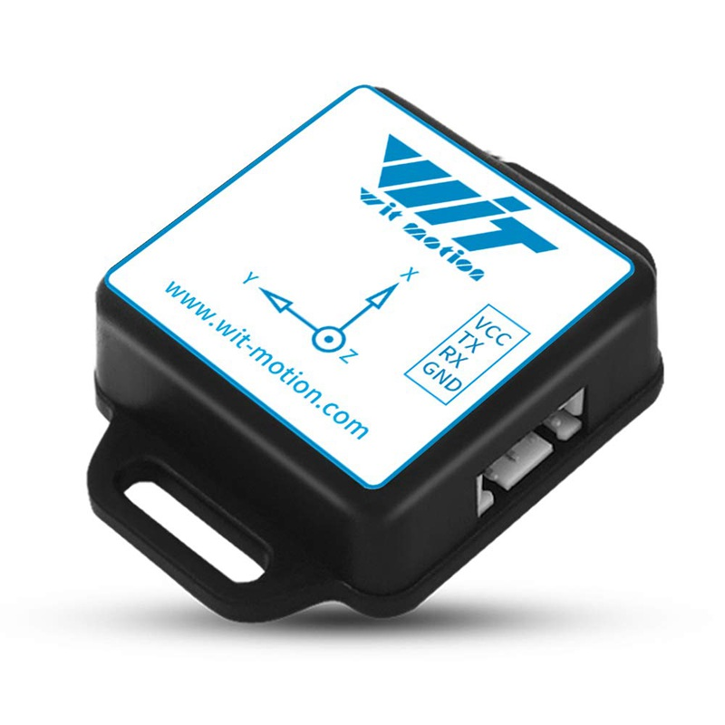 WitMotion WT901C485 9 Axis IMU Sensor Tilt Angle Roll Pitch Yaw + Acceleration + Gyroscope + Magnetometer MPU9250 on PC/Android/MCU