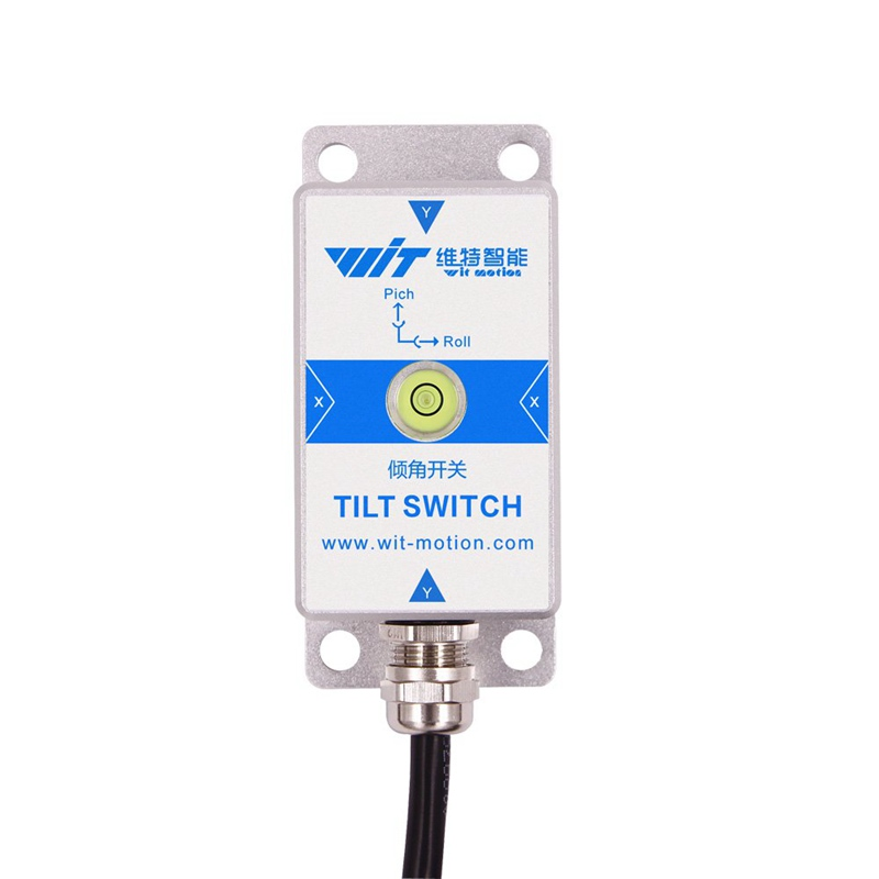 WitMotion SINRT RS232 2 Axis Relay High Precision AHRS Tilt Angle Measurement Sensor & Alarm Switch & Waterproof IP67& Anti-vibration