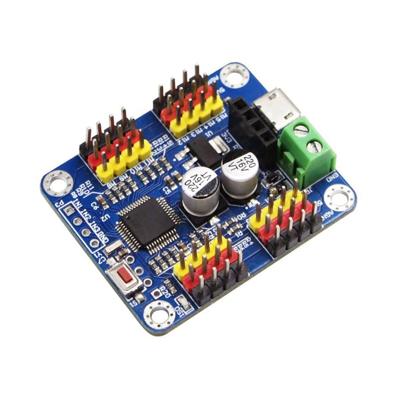 WitMotion 16 Channel Bluetooth PWM Servo Driver Controller Board Module PCB Steering Gear For SG90 MG995 Arduinos