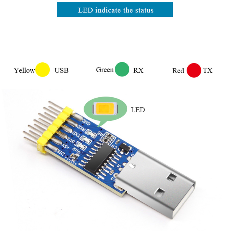 WitMotion USB to TTL RS485 RS232 Multi-function Serial Interface Module 3.3v and 5v input Serial converter