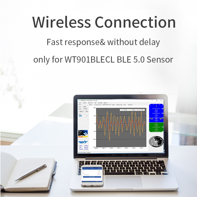 WitMotion Bluetooth 5.0 adapter for sensor WT901BLE, WT901BLECL